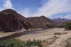 Río Mayo a su paso por Mesa Colorada. Fotografía de Jesús Armando Haro Encinas