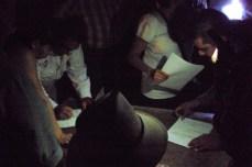 Firma de los acuerdos nov2012 del convenio entre las partes implicadas en el proyecto presa Los Pilares