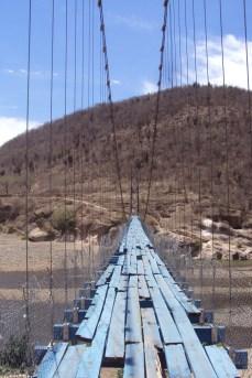 La Junta. Puente sobre el río Mayo