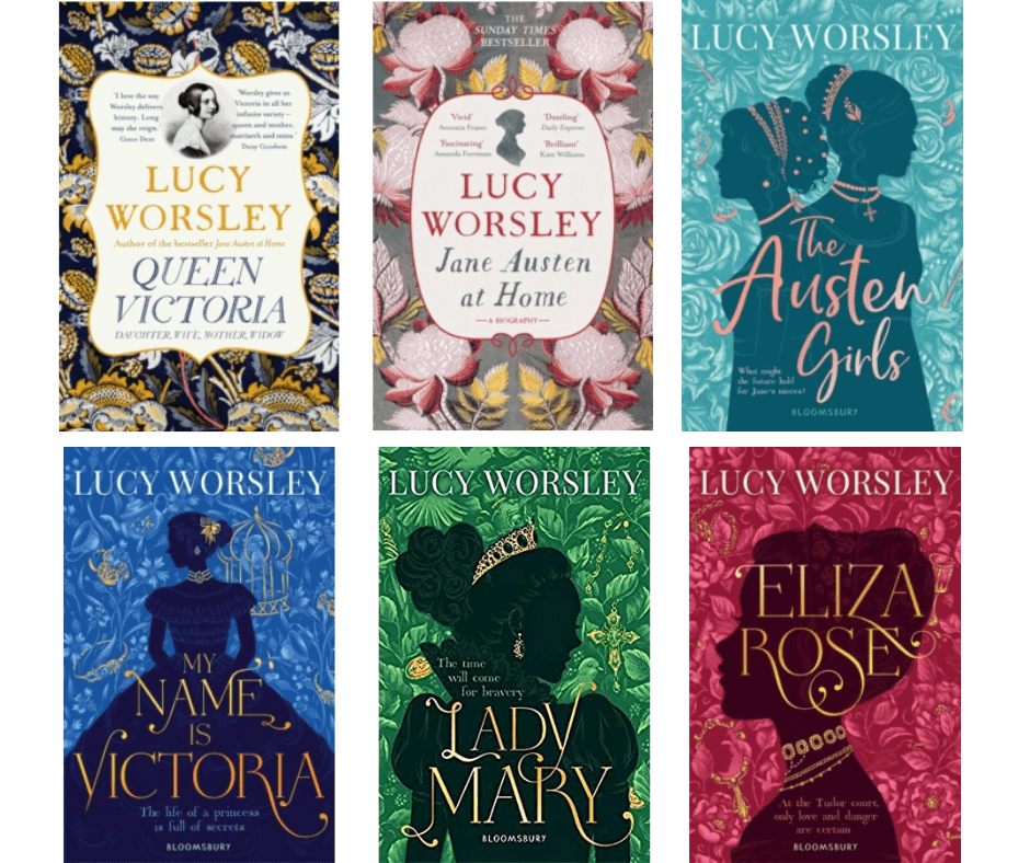 Lucy Worsley Book Bundle (6 books) | Chiltern Bookshops