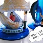 【美ら海水族館】思い出のお土産♪ガチャガチャのカプセルフィギュア!ポケGOではサニーゴGET!