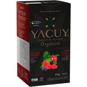 Composto Orgânico Yacuy Frutas Vermelhas 500g Caixa com 10 unidades