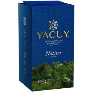 Erva Mate Yacuy Nativa Vácuo 1 kg Caixa com 10 unidades