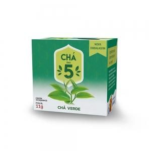 Chá das 5 – Chá Verde – Mate Laranjeiras 11g