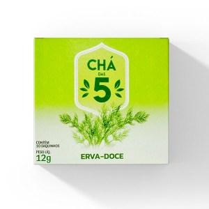 Chá das 5 – Erva Doce – Mate Laranjeiras 12g