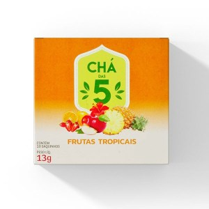 Chá das 5 – Frutas Tropicais – Mate Laranjeiras 13g