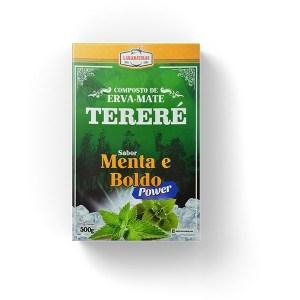 Tereré – Menta e Boldo – Power – Composta de Erva Mate – 500g – Mate Laranjeiras