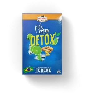 Tereré – Téres Premium – Detox: Limão Menta e Gengibre – Composta de Erva Mate – 250g – Mate Laranjeiras