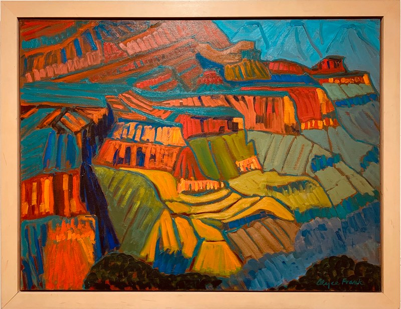 Alyce-Frank-Chimayo Trading del Norte-Paintings-Historic