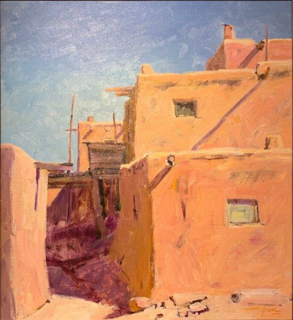 Walt Gonsky-Chimayo Trading del Norte-Historic-Paintings