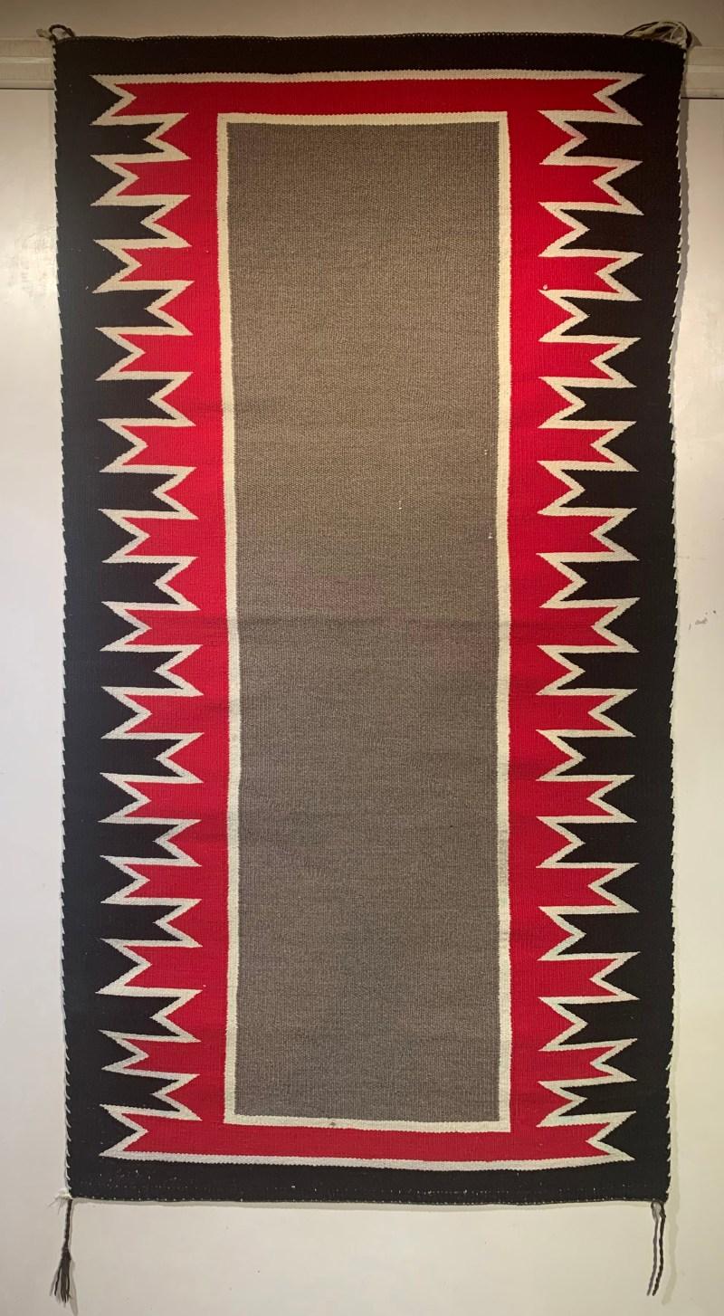 Double Saddle Blanket, Ca. 1930s-40s