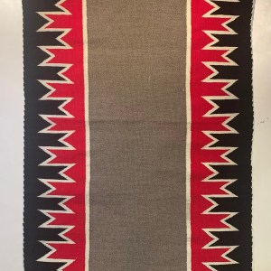 Double Saddle Blanket, Ca. 1930s-40s