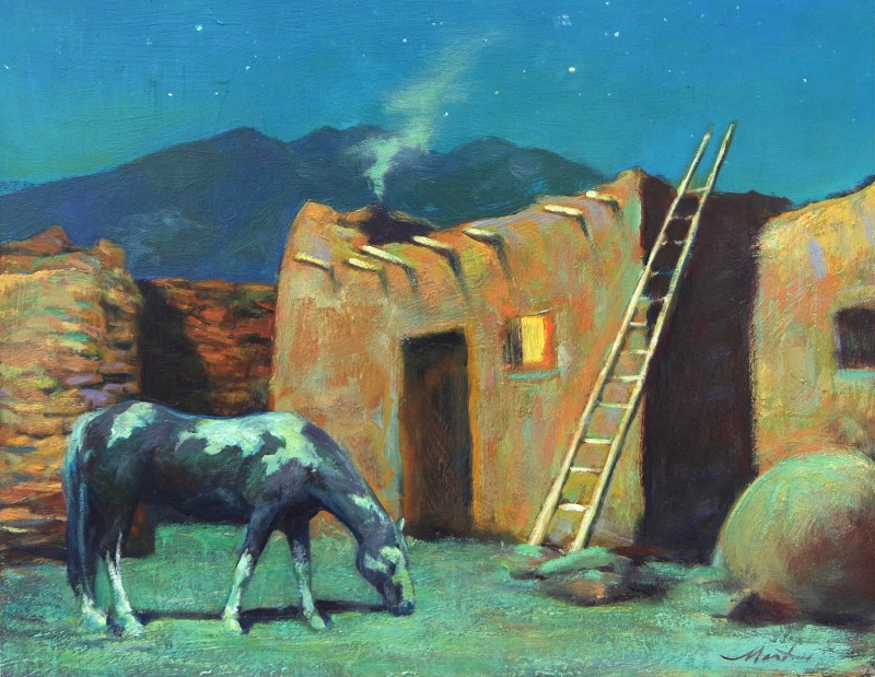 """""""Peaceful Night"""" by William Martin"""