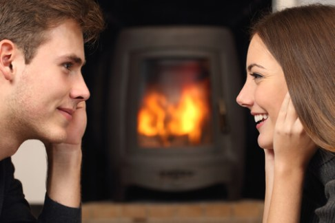 Spend Valentine's Day in front of a safe fireplace