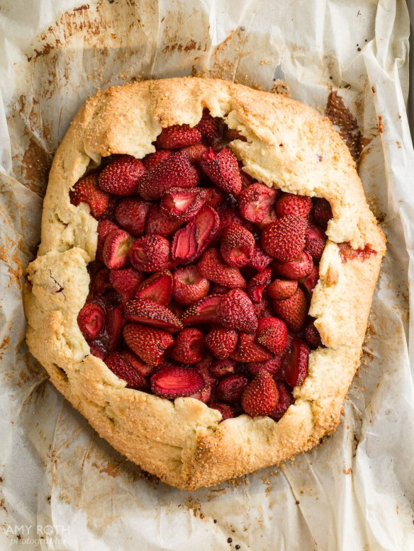 Gluten-Free Strawberry Galette at Minimally Invasive