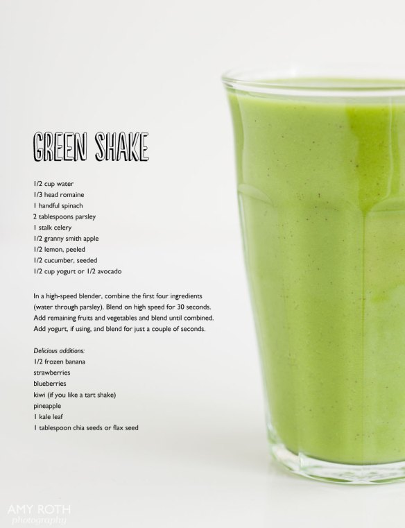 Green Shake Recipe at Minimally Invasive