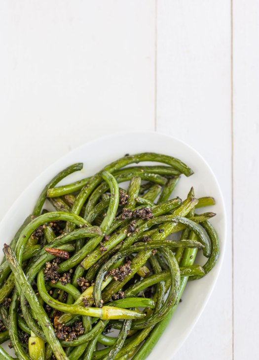 Szechuan Garlic Scapes | Minimally Invasive