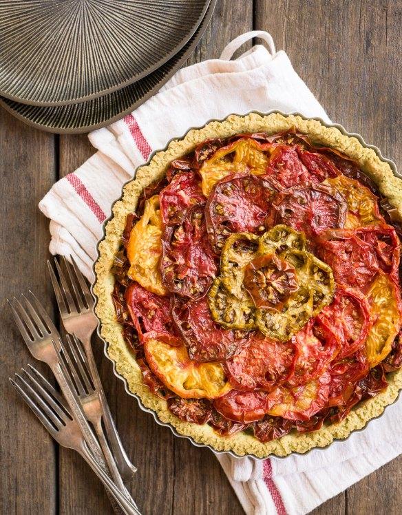 Gluten-Free, Paleo Tomato Tart | Minimally Invasive