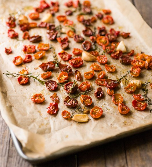 Roasted Cherry Tomatoes with Herbs | Minimally Invasive
