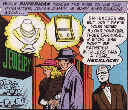 Jimmy Olsen, bandaged sex-freak