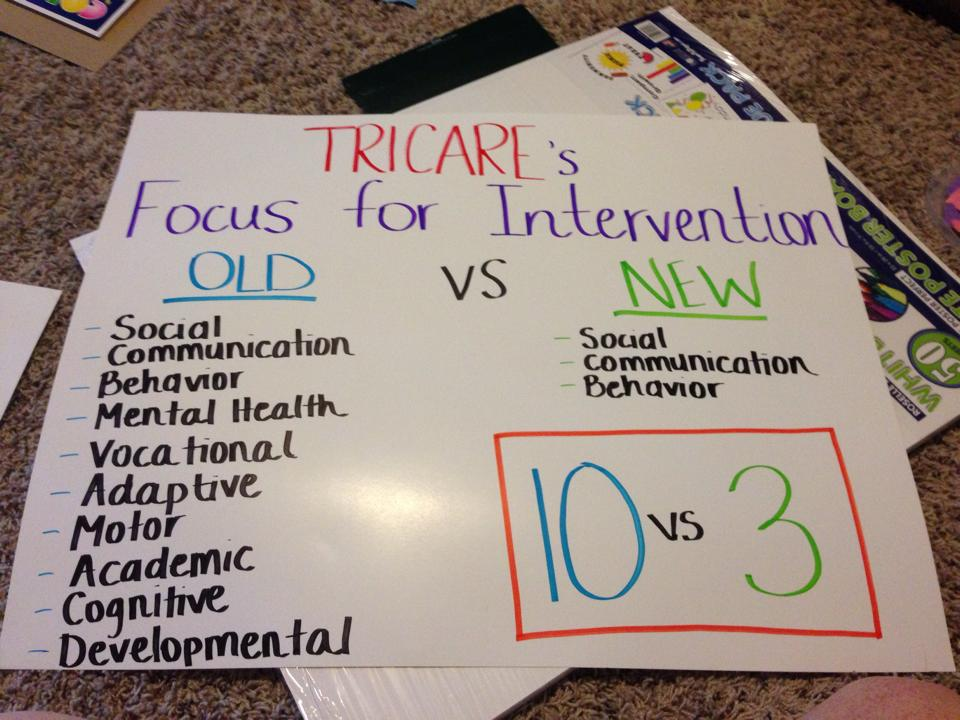 We need your help. Some of the new changes to the Tricare ABA policy will hurt autistic children.