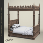 The Saturday Sale 24 August 2019 Oak Four Poster Bed Chimia