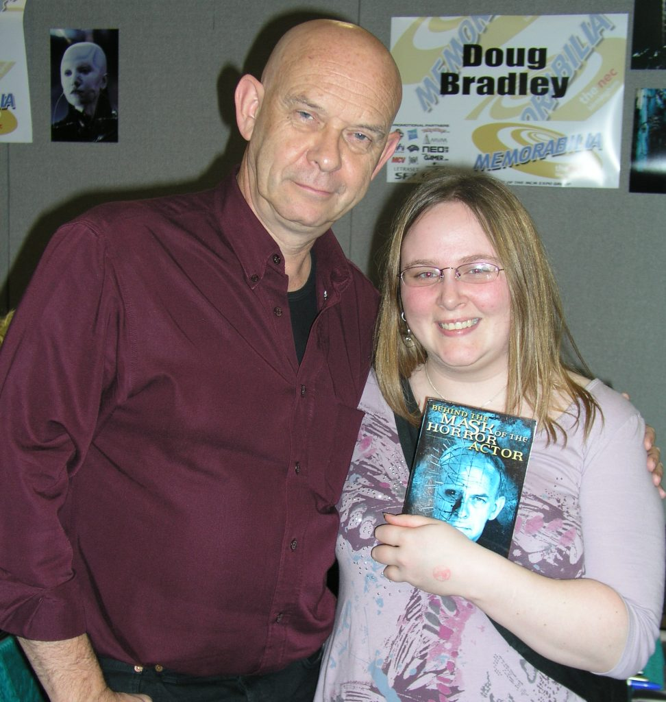 Doug Bradley - Hellraiser at the Winter Memorabilia Show 2010