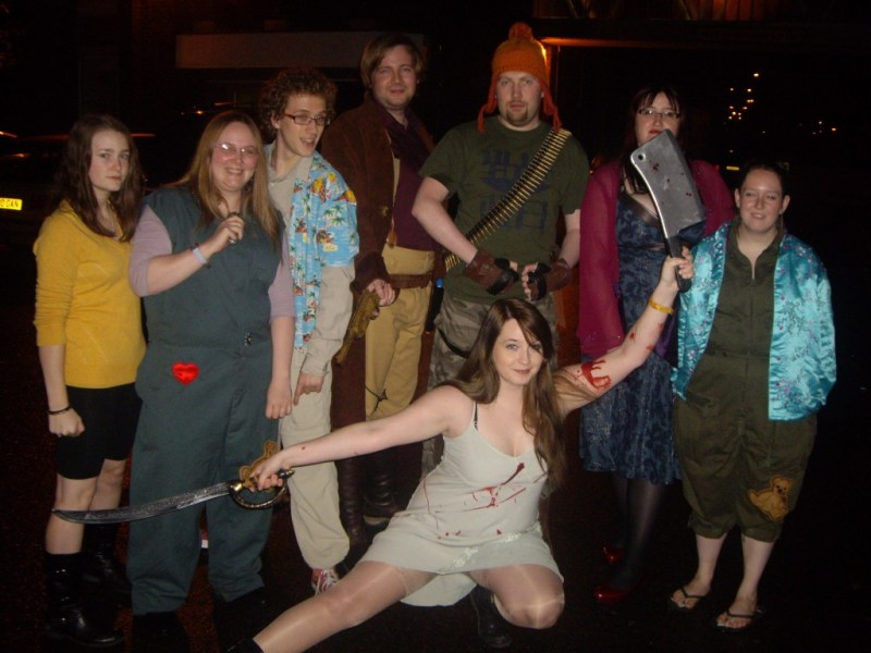 Firefly group cosplay - Hallowhedon 2