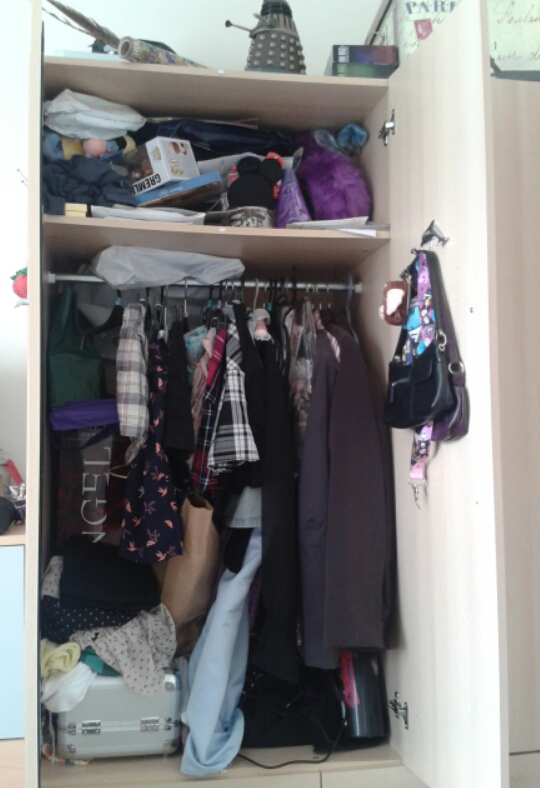 Wardrobe - before photo