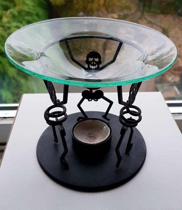 Bones candle holder