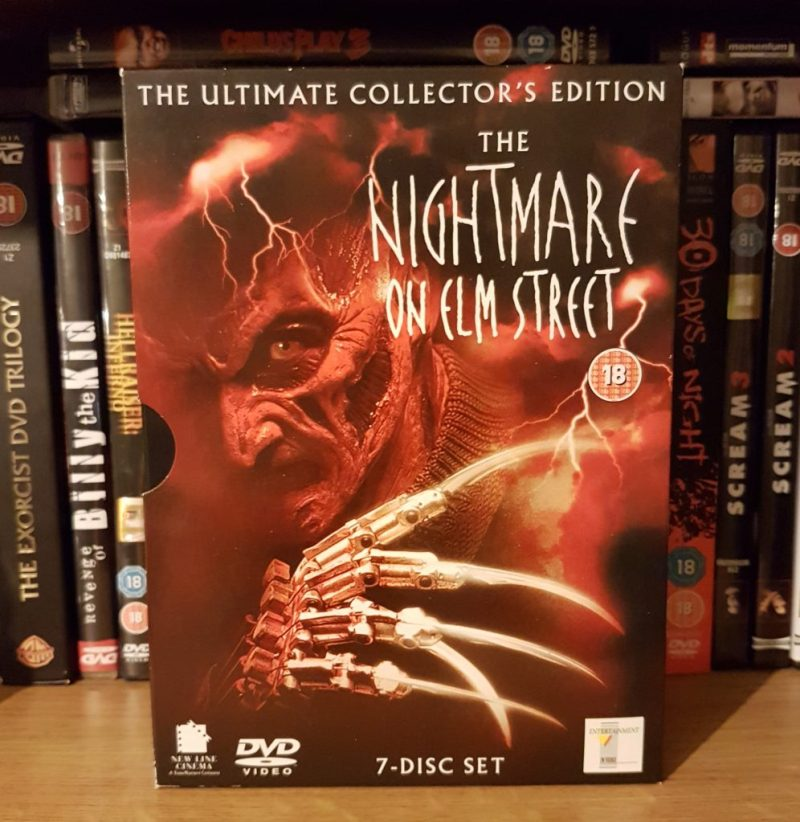 The Nightmare on Elm Street collector's edition dvd box set