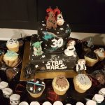 Star Wars birthday cake - 30