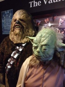 Star Wars - Chewbacca and Yoda