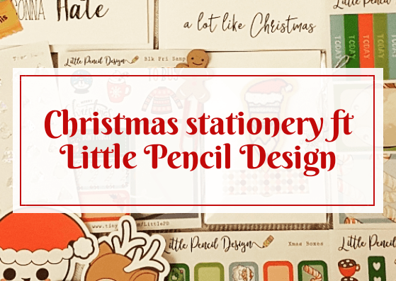 Christmas stationery ft Little Pencil Design
