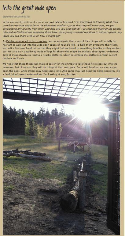 Sept 7 2011 blog post screenshot