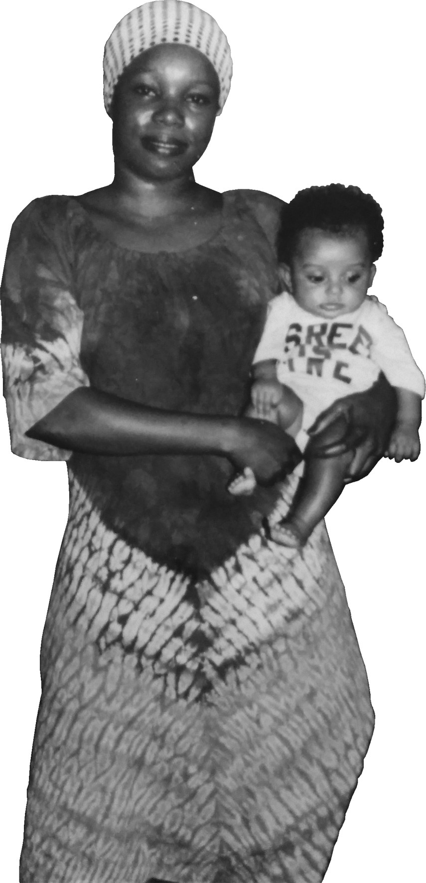 Nisreen Kaj with her mother Joyce, 1983  (photographs courtesy of Nisreen Kaj)