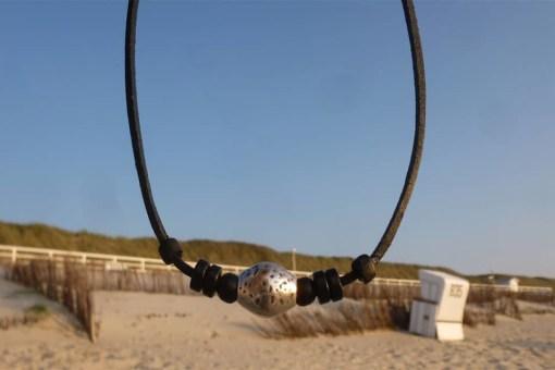 Lederkette Halskette Surfbeach Surferkette