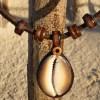 Surferschmuck Kauri Muschelkette Damenkette