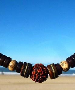 Rudraksha Schutz Halskette Yoga