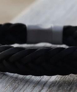 Breites Männerarmband Lederarmband Herrenarmband