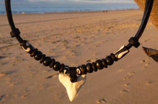 Haifischzahnkette Aloha-Love Haizahn Fischkette