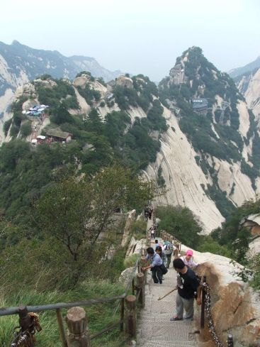 Climbing Mt. Hua