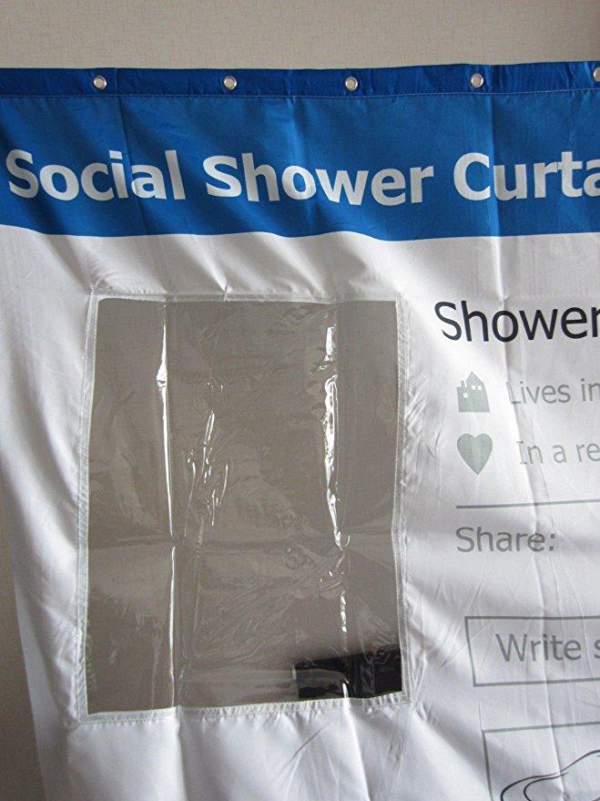 social shower curtain youtube or