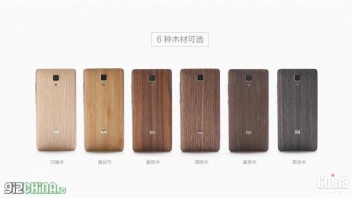 Xiaomi выпустила съемные панели под дерево для MI4