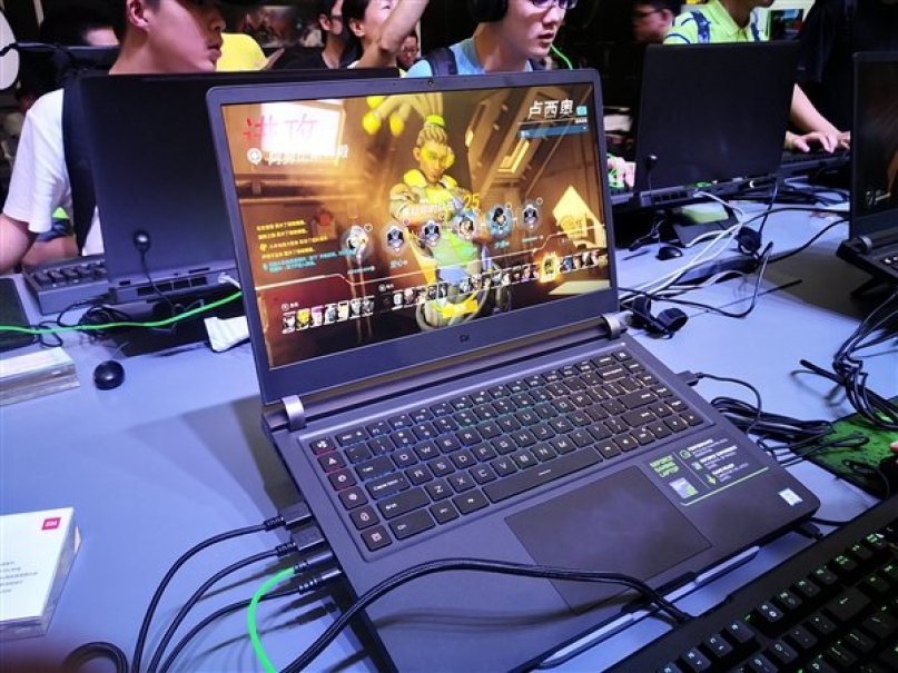 Представлен игровой ноутбук Xiaomi Notebook Pro 2