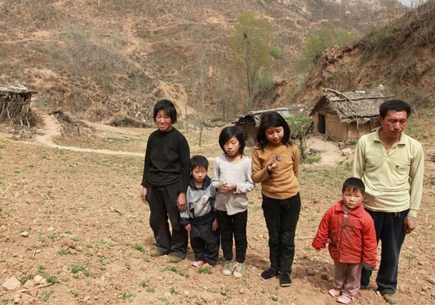A family of Henan peasants hiding in the mountains for 12 years