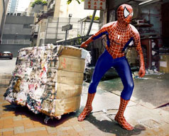 Heroes Next Door, daily routine of Superheroes in Hong Kong images