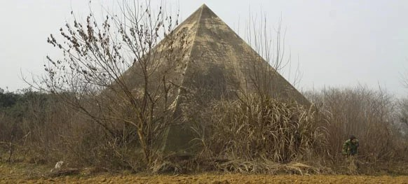 abandoned pyramids