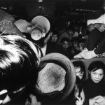 images of train trips during the Chinese New Year - from 1990 to 2010