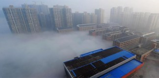 Changsha immersed in smog
